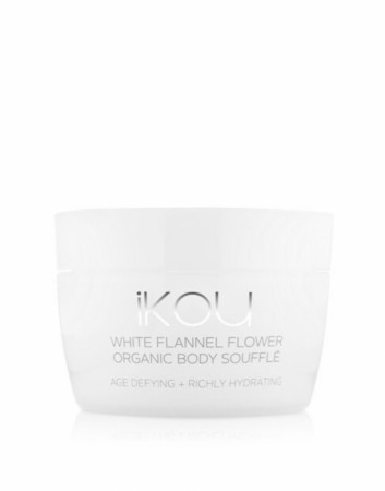 IKOU WHITE FLANNEL FLOWER AGE-DEFYING BODY SOUFFLE 200G