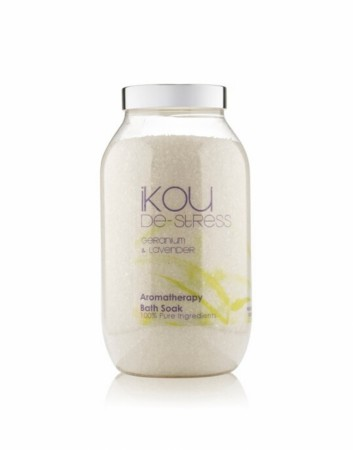 IKOU 100% NATURAL BATH SOAK DE-STRESS