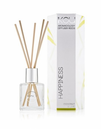 IKOU ECO-LUXURY DIFFUSER REEDS - HAPPINESS